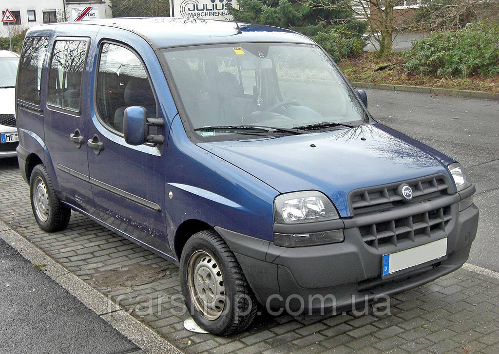 Стекло Fiat Doblo I MAXI 00-10 заднее салона левое SG