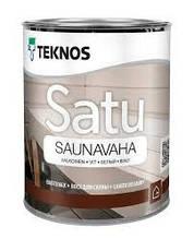 Віск для лазні, сірий, Текнос Сату Саунаваха 0, 9 л