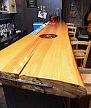Деревянная столешница барная стойка для кофейни из массива, фото 2