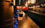 Деревянная столешница барная стойка для кофейни из массива, фото 6