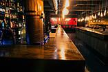 Деревянная столешница барная стойка для кофейни из массива, фото 7