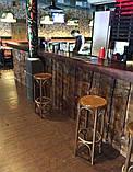 Деревянная столешница барная стойка для кофейни из массива, фото 8