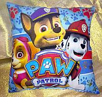 Декоративная детская подушка Щенячий патруль