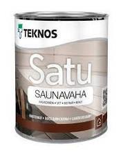 Віск для лазні, прозорий, Текнос Сату Саунаваха 2,7 л