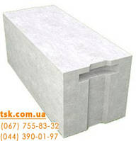 Газоблок стеновой Стоунлайт (Бровары) паз-гребень 375х200х600, фото 1