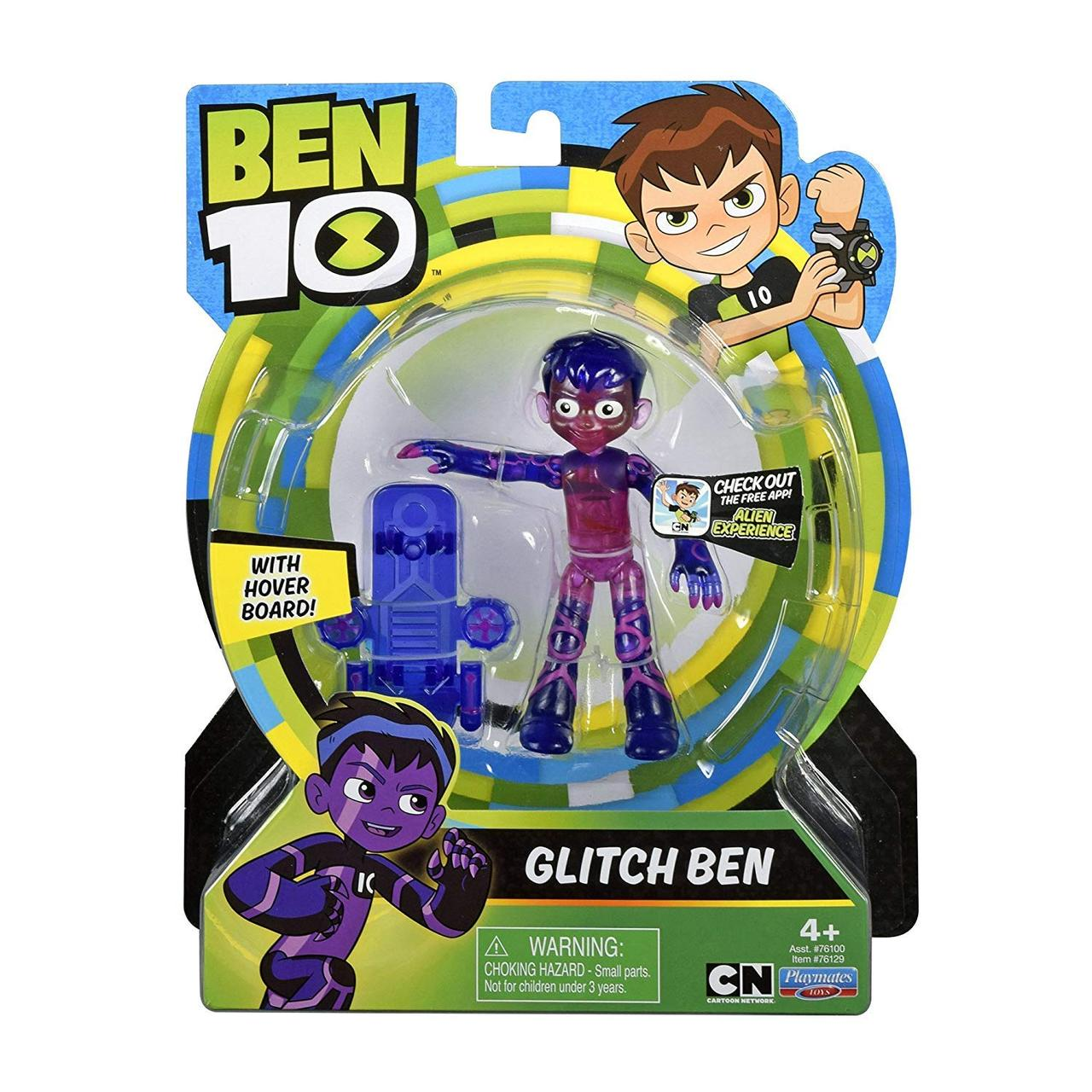 Фигурка Бен 10 Glitch Basic Ben 10 Многоцветный