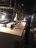 Деревянная столешница барная стойка для кофейни из массива, фото 3