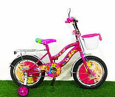 """Детский велосипед Mustang Winx 12"""" розовый"""