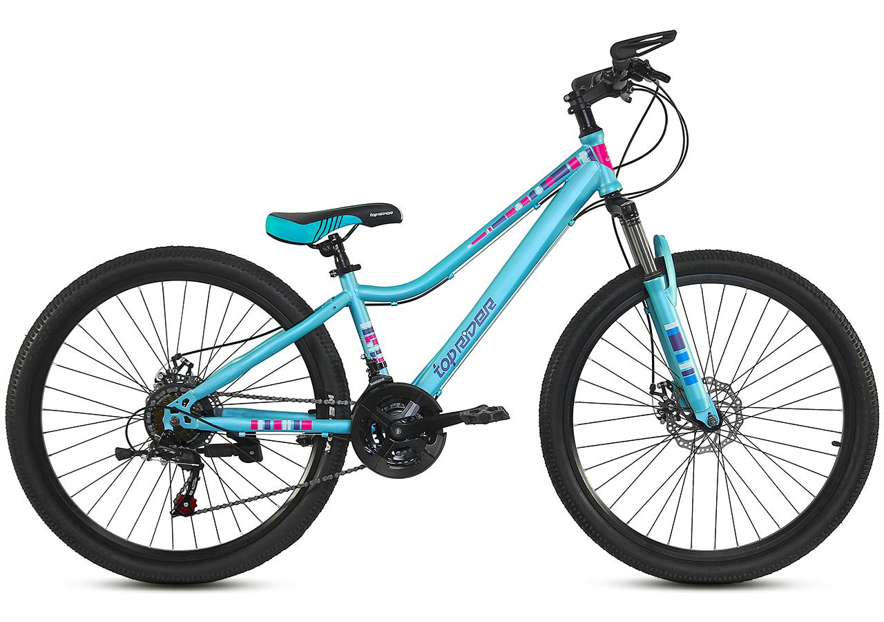 """Горный велосипед TopRider 900 26"""" Бирюзовый"""