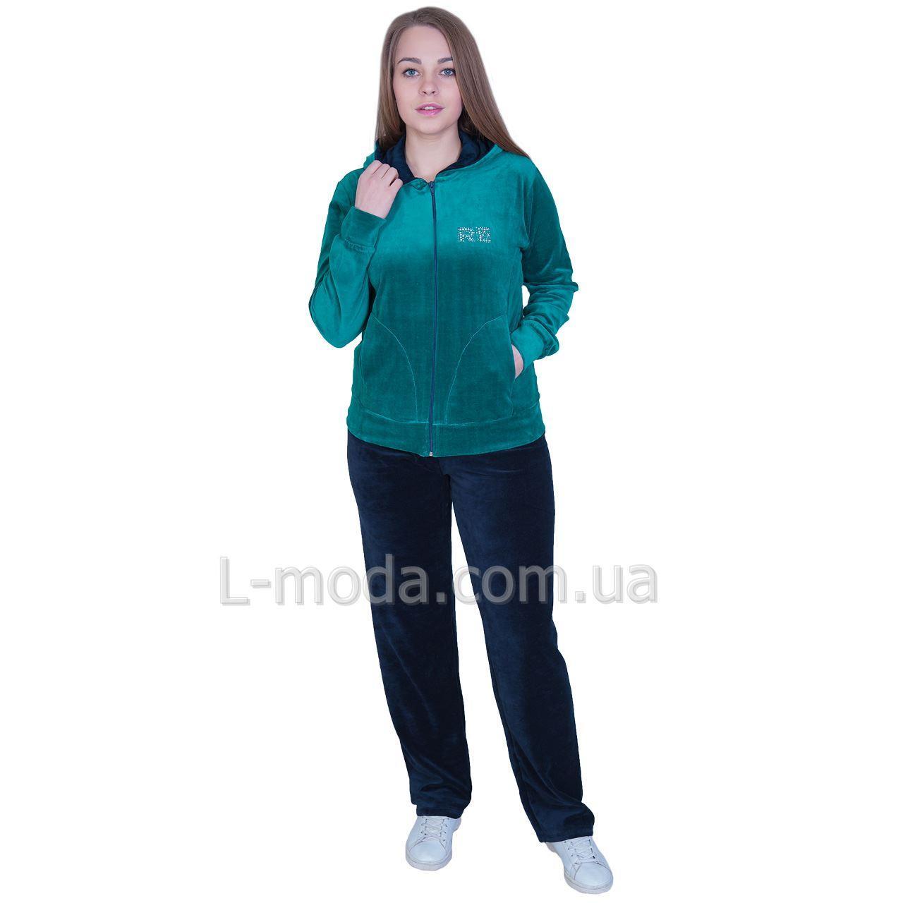 Спортивный костюм женский велюровый opt-52477