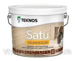 Пропитка для сауны Текнос Саунасуойя, 2,7 л