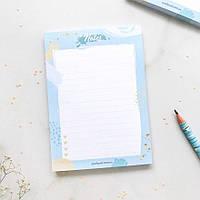 Настольный чек лист с отрывными листами Abstract dream подарок на день влюбленных 14 февраля
