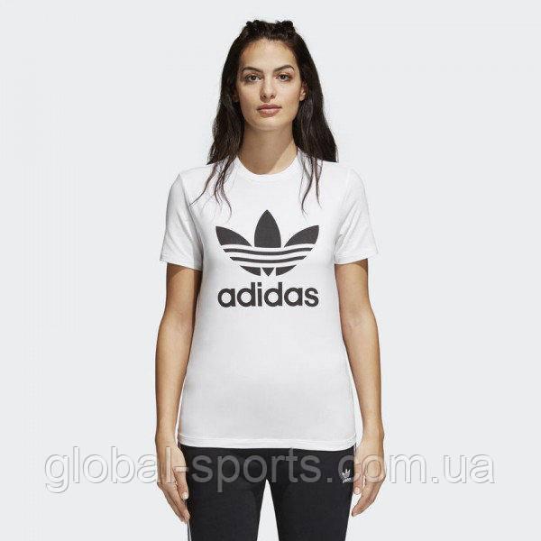 50fb7819 Женская футболка Adidas Originals Trefoil (Артикул: CV9889): продажа ...