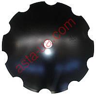 Диск ромашка Агроленд D=660 мм, h=6 мм, d=55 мм GM 6 1906-26MR.55 (Bellota)