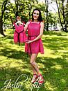 Шифоновое платье для мамы и дочки с пышной юбкой 28md47, фото 4
