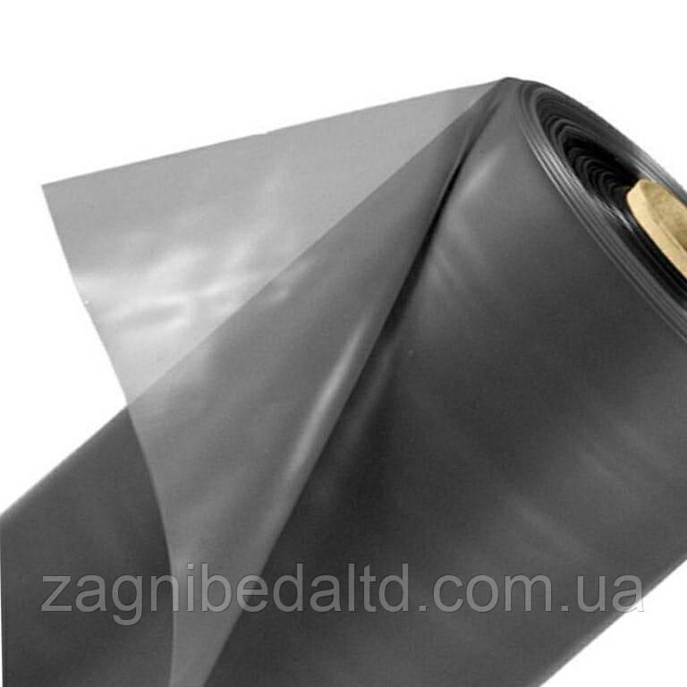 Пленка полиэтиленовая  для укрытия силоса и сенажа 120 мкм 3 м х 100 пог.м серая