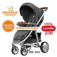 CARRELLO VISTA CRL-8505 прогулочная коляска Steel Gray Темно-серый