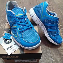Кроссовки Bona сетка голубые размер 39
