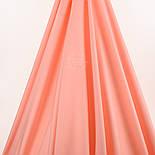 Лоскут поплина  цвет лососевый №37-1367, размер 28*120 см, фото 2