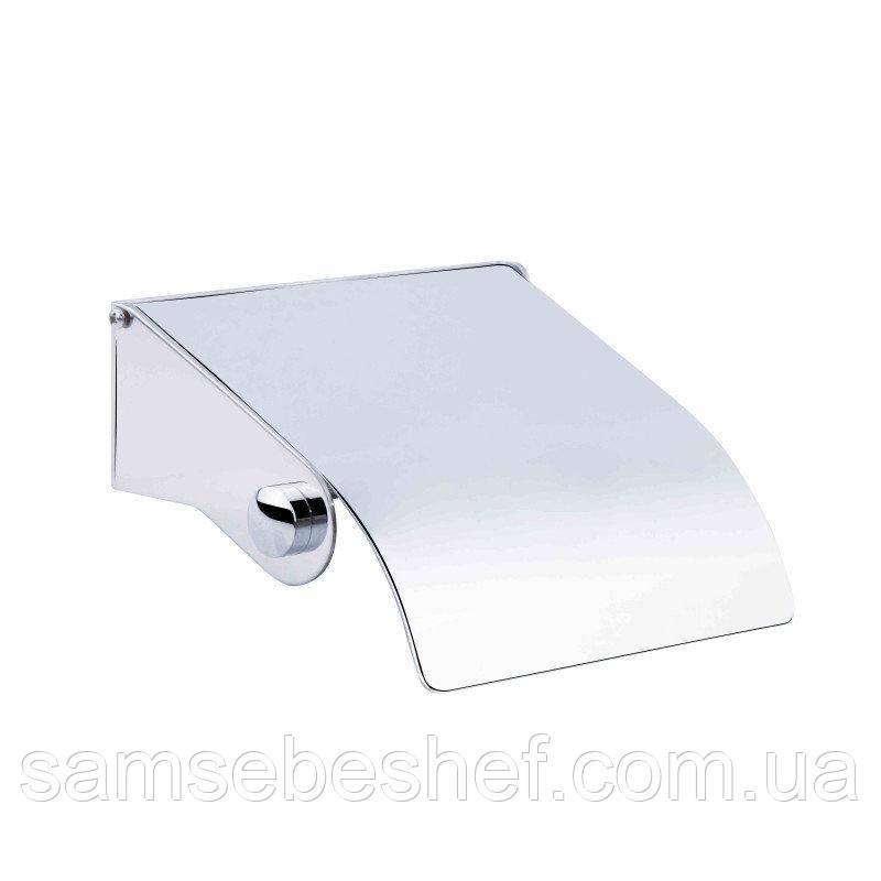 Держатель с крышкой для туалетной бумаги с втулкой 0313