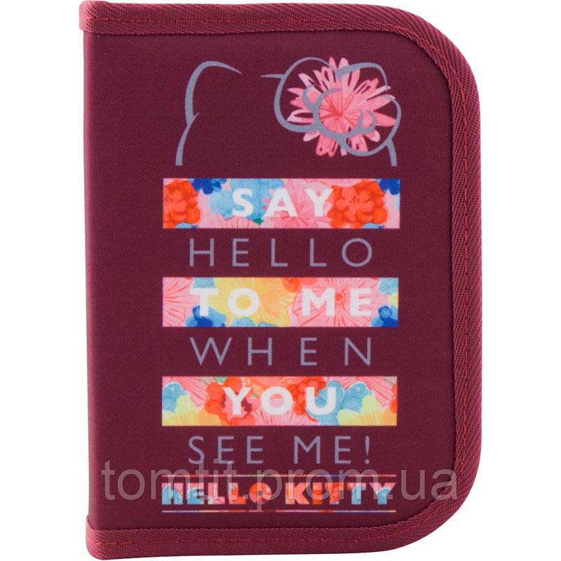 Пенал - книжка Hello Kitty HK19-622, ТМ Kite