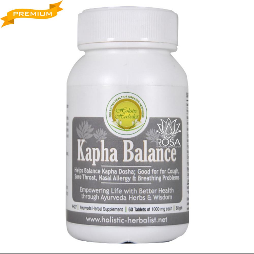 Капха Баланс (Kapha Balance, Holistic Herbalist), 60 таблеток