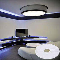 LED неон гибкий 220V 120led/m SMD3528 9,6W IP67 Белый (BM)