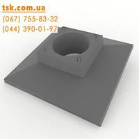 Опорна плита для анкерно-кутової опори ОП1, фото 1