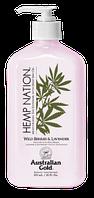 Лосьйон після засмаги AUSTRALIAN GOLD Hemp Nation Wild Berries & Lavender, 535 ml