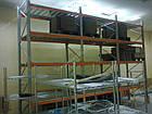 Стеллаж паллетный H3000хL2700х1100 мм (пол.+2 уровня по 2300 кг на уровень), складской стеллаж для паллет, фото 5