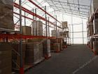 Стеллаж паллетный H3000хL2700х1100 мм (пол.+2 уровня по 2300 кг на уровень), складской стеллаж для паллет, фото 9