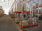 Стеллаж паллетный H3000хL2700х1100 мм (пол.+2 уровня по 2300 кг на уровень), складской стеллаж для паллет, фото 10