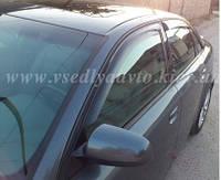 Дефлекторы окон на AUDI A4 седан (B6/B7/8E) 2000-2008 гг.