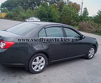Дефлекторы окон на Chevrolet Epica II седан 2006/Chevrolet Evanda 2004-2006