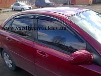 Дефлекторы окон на Chevrolet LACETTI седан 2003-