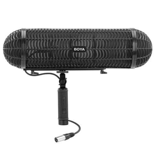 Система ветрозащиты и подвес для микрофонов-пушек Boya  BY-WS1000