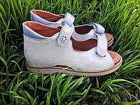 Ортопедические кожаные босоножки для девочек VIKRAM.ORTO с 31р по 36р, фото 1