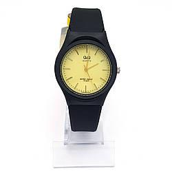 Часы QQ, Классика на силиконовом ремешке 16-22см, циферблат 34мм
