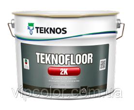 TEKNOS TEKNOFLOOR 2K Двухкомпонентная краска для пола База 3 4,5л