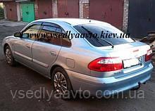 Дефлекторы окон на MAZDA 626 седан/хетчбек 1997-2002 гг.