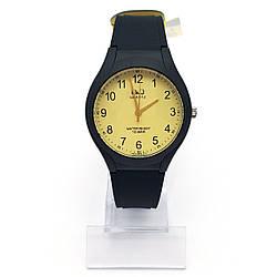 Часы QQ  Классика на силиконовом ремешке 16,5-22,5см, циферблат 36мм