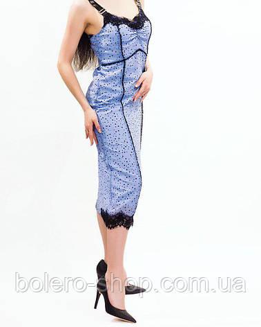 Женское платье Pinko голубое Италия, фото 2
