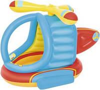 Детский надувной игровой центр Bestway 52217 Вертолет 140*127*89 см с шариками 50 шт