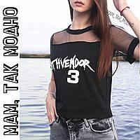 70cd9fe717eb Женская черная футболка в Украине. Сравнить цены, купить ...