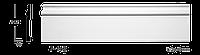 Плинтус напольный Classic Home 7-142, лепной декор из полиуретана