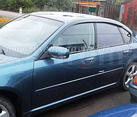 Дефлекторы окон на Subaru Legacy седан 2003-2009