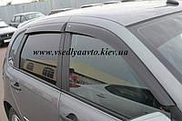 Дефлекторы окон на Lada Kalina Калина