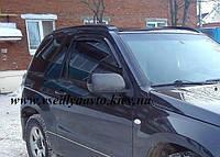 Дефлекторы окон на Suzuki Grand Vitara (Escudo) 3-дверка 2005-