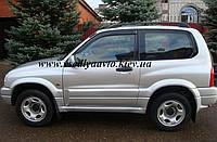 Дефлекторы окон на Suzuki Grand Vitara 3-дверка 1998-2005