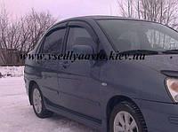 Дефлекторы окон на Suzuki Liana седан 2002-2007